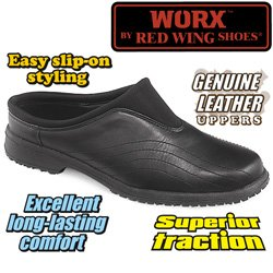 Worx Womens Black Clogs