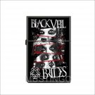 Black Veil Brides Oil Windproof Flip Top Lighters Briquet Encendedor