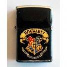 Harry Potter - Hogwarts - Oil Windproof Flip Top Black Lighter Refillable
