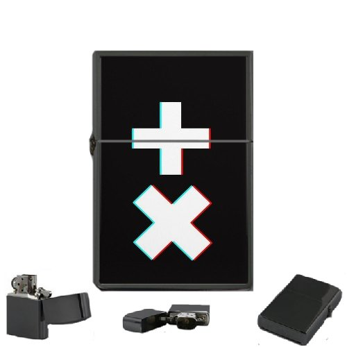 Martin Garrix - Oil Windproof Flip Top Black Lighters Briquet Encendedor