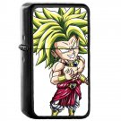 Dragon Ball Z Broly - Oil Windproof Flip Top Black Lighters Briquet Encendedor 11