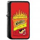 Cheetos - Oil Windproof Flip Top Black Lighters Briquet Encendedor 2