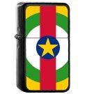 Central African Republic Country National Emblem Flag - Oil Flip Top Black Lighters 1314