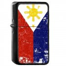Philippines Country National Emblem Flag - Oil Flip Top Black Lighters 2196