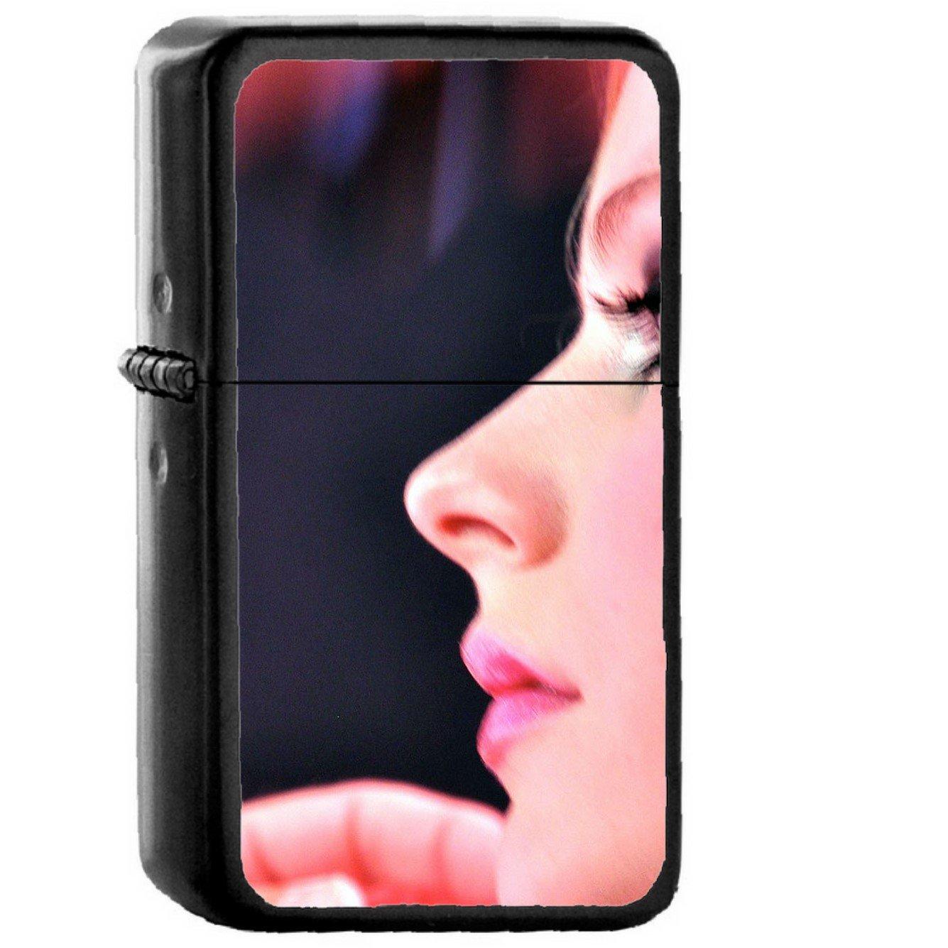 Avril Lavigne Music - Oil Windproof Black Lighters Briquet Encendedor