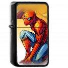 Spiderman Captain America Civilwar Art Hero - Oil Windproof Black Lighters