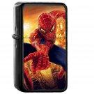 Spiderman Illust Art Hero Marvel - Oil Windproof Black Lighters