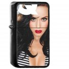 Gq Katy Perry Girl Music Face - Oil Windproof Black Lighters