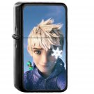 Jack Frost Rise Of The Guardians Illust - Oil Windproof Black Lighters