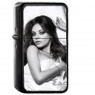 Mila Kunis Esquire Sexy Woman Face - Oil Windproof Black Lighters