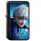 Rise Of The Guardians Jack Frost Dreamworks - Oil Windproof Black Lighters