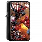 Amazing Spiderman Marvel Art Hero Film Anime - Oil Windproof Black Lighters