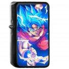 Dragonball Goku Blue Art Illustration Anime - Oil Windproof Black Lighters