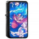 Dragon Ball Goku Blue Art Illustration Anime - Oil Windproof Black Lighters