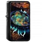 Mystey Art Illustration Animal Sea Digital - Oil Windproof Black Lighters