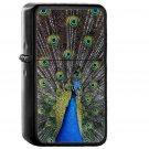 Peacock Animal Bird Art - Oil Windproof Black Lighters