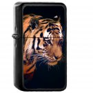 Tiger Dark Animal Love Nature - Oil Windproof Black Lighters