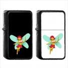 274 Woman Fairy - (1pcs) Oil Windproof Black Emoji Emoticon Lighters