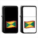 1456 Flag For Grenada - (1pcs) Oil Windproof Black Emoji Emoticon Lighters