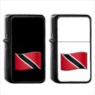 1606 Flag For Trinidad Tobago - (1pcs) Oil Windproof Black Emoji Emoticon Lighters