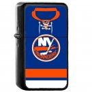 New York Islanders Home Jersey - Oil Windproof Flip Top Black Lighters Briquet Encendedor