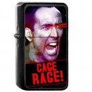 Nicolas Cage Rage - Oil Windproof Flip Top Black Lighters Briquet Encendedor