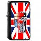 Rover Mini Cooper Sport Red Union Jack - Oil Windproof Flip Top Black Lighters Briquet Encendedor