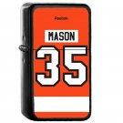 Philadelphia Flyers Steve Mason Jersey - Oil Windproof Flip Top Black Lighters Briquet Encendedor