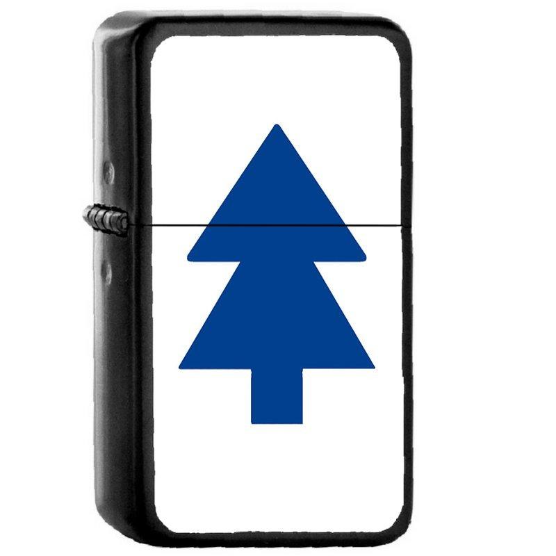 Dipper Pines - Oil Windproof Flip Top Black Lighters Briquet Encendedor EE