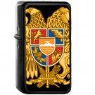 Coat of arms of Armenia - Oil Windproof Black Lighters Briquet Encendedor