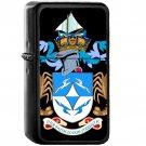 Coat of arms of Tristan da Cunha - Oil Windproof Black Lighters Briquet Encendedor