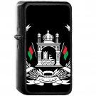 National emblem of Afghanistan - Oil Windproof Black Lighters Briquet Encendedor