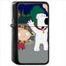 Family Guy Oil Windproof Black Lighter Briquet Encendedor L619
