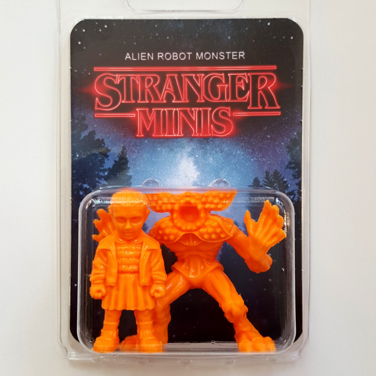 Stranger Minis � Pack A. � M.U.S.C.L.E. orange