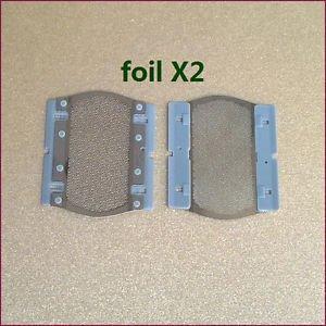 2X 5S Replacement Shaver foil fits BRAUN P40 M60 M90 5604 5607 5608 5609 Shaving