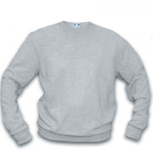Basic Crew Sweatshirt/ ash heather - extra large