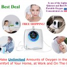 Oxygen Concentrator with Built in Dehumidifier Bottle