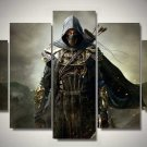 Assassin's Creed #12 5 pcs Unframed Canvas Print - Small Size