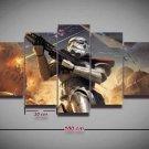 Star Wars Stormtrooper #06 5 pcs Unframed Canvas Print - Medium Size