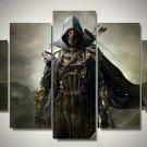 Assassin's Creed #12 5 pcs Framed Canvas Print - Medium Size