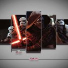 Kylo Ren Star Wars #05 5 pcs Framed Canvas Print - Medium Size