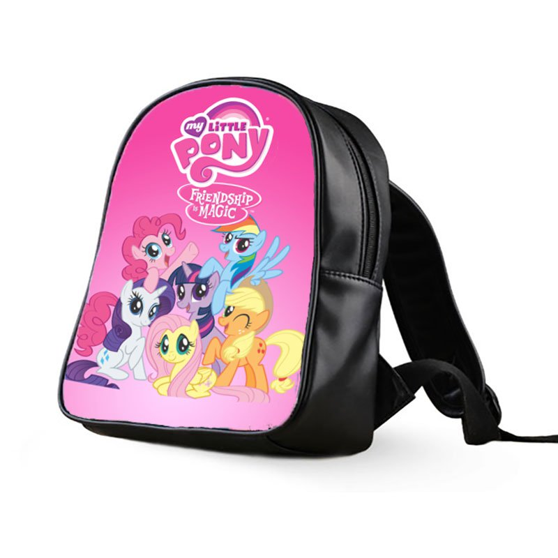 #06 My Little Pony Kids Multi-Pocket School Bag Backpack
