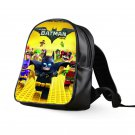 #03 Lego Batman Kids Multi-Pocket School Bag Backpack