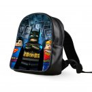 #04 Lego Batman Kids Multi-Pocket School Bag Backpack