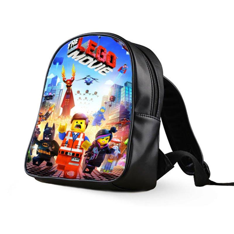 #01 The Lego Movie Kids Multi-Pocket School Bag Backpack