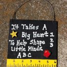 Teacher Gift 5216LM - Little Minds with Ruler/Apple