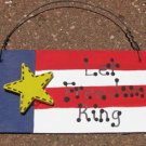 10977LFR - Let Freedom Ring Wood Sign