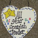 Teacher Gifts 5036 All Star Spanish Teacher