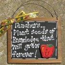 Teacher Gift 80 Teacher Plant Seeds Teacher Slate