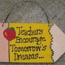 Teacher Gifts Wood 24 Pencil Teachers Encourage Tomorrow's Dreams